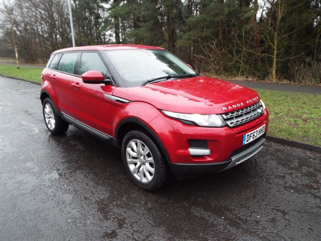 used Land Rover Range Rover Evoque ED4 PURE TECH in lancashire