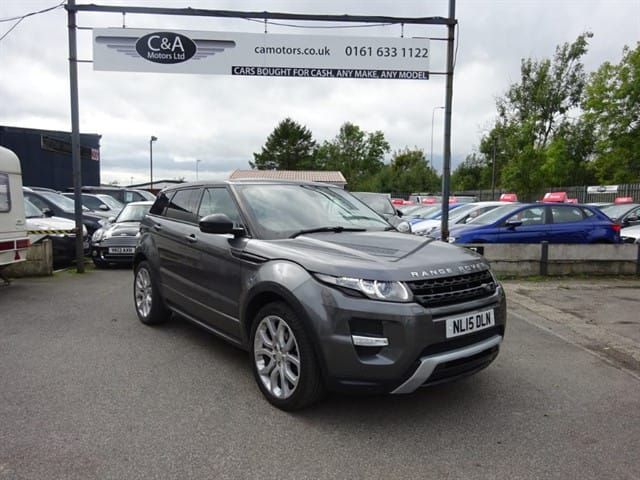used Land Rover Range Rover Evoque SD4 DYNAMIC in lancashire
