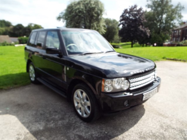 used Land Rover Range Rover VOGUE in lancashire