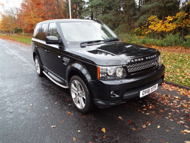 used Land Rover Range Rover Sport SDV6 HSE LUXURY in lancashire