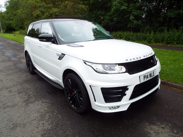 used Land Rover Range Rover Sport SDV6 HSE in lancashire