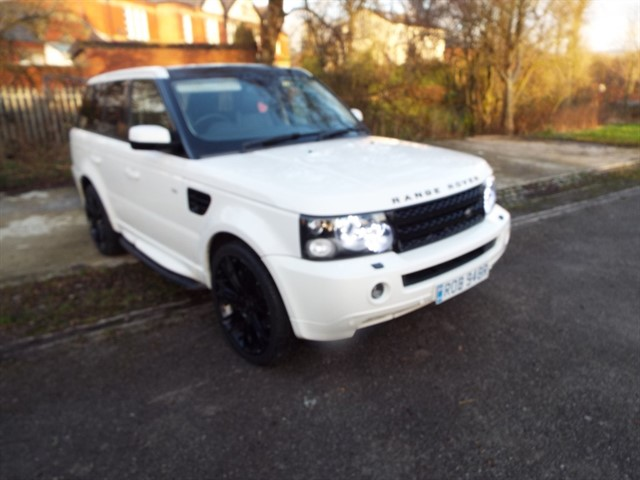 used Land Rover Range Rover Sport TDV8 HSE E4 in lancashire