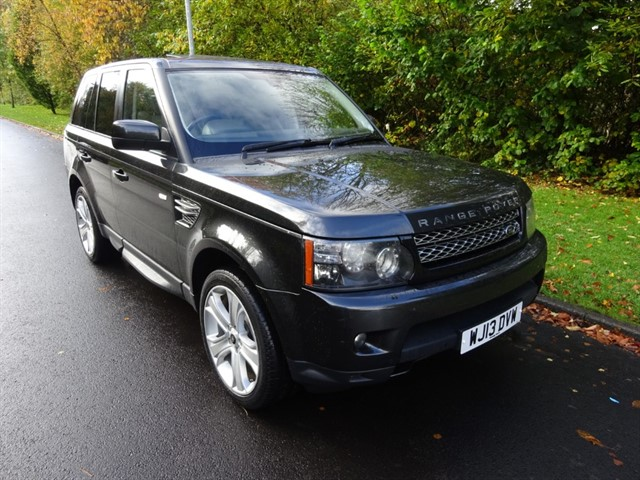 used Land Rover Range Rover Sport SDV6 HSE BLACK in lancashire