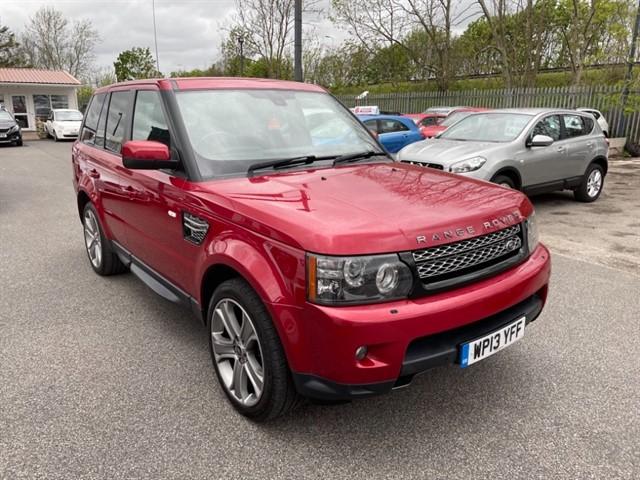 used Land Rover Range Rover Sport SDV6 HSE BLACK in lancashire