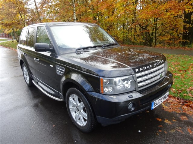 used Land Rover Range Rover Sport HSE in lancashire