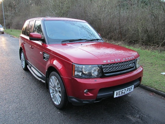 used Land Rover Range Rover Sport SD V6 HSE (Luxury Pack) 4X4 5dr in lancashire