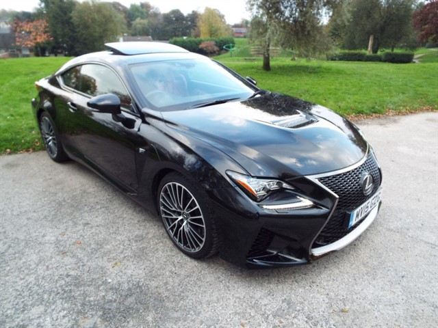used Lexus RC F F in lancashire