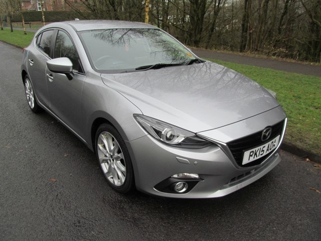 used Mazda Mazda3 SPORT NAV in lancashire