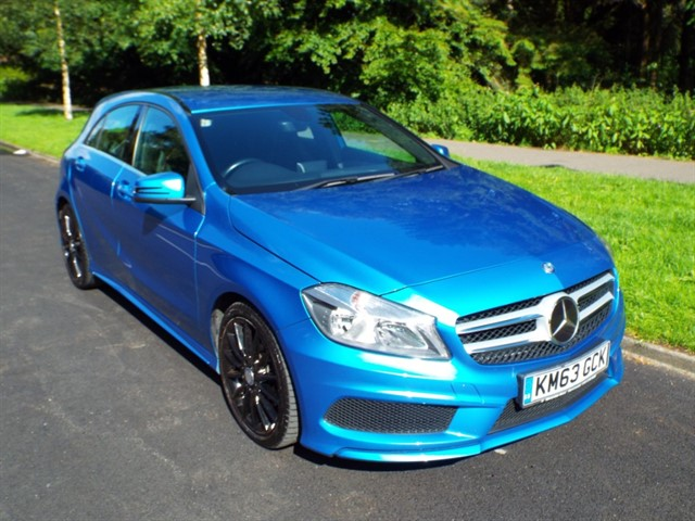 used Mercedes A180 CDI BLUEEFFICIENCY AMG SPORT in lancashire