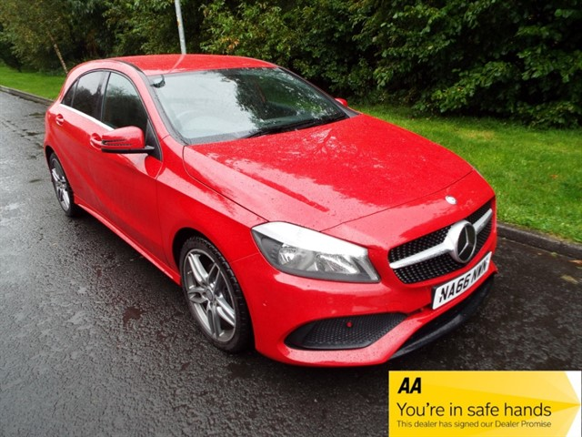 used Mercedes A180d A 180 D AMG LINE EXECUTIVE in lancashire