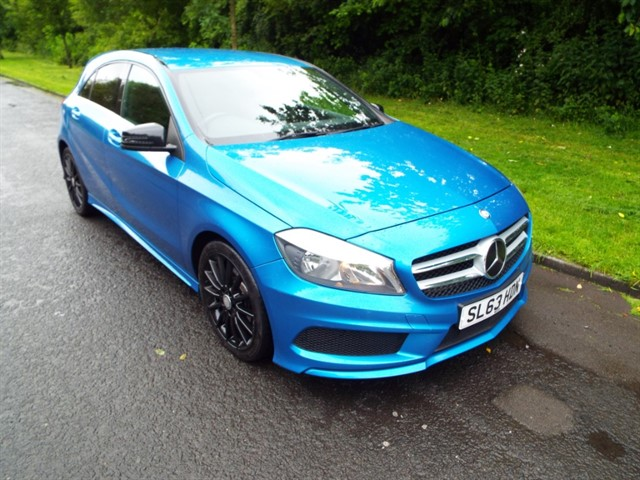 used Mercedes A220 CDI BLUEEFFICIENCY AMG SPORT in lancashire