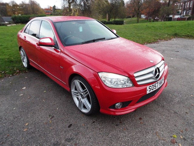 used Mercedes C200 CDI SPORT in lancashire