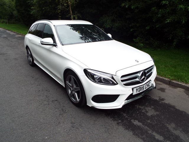 used Mercedes C220 BLUETEC AMG LINE in lancashire