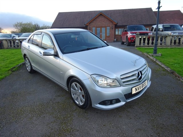 used Mercedes C220 CDI BLUEEFFICIENCY SE in lancashire