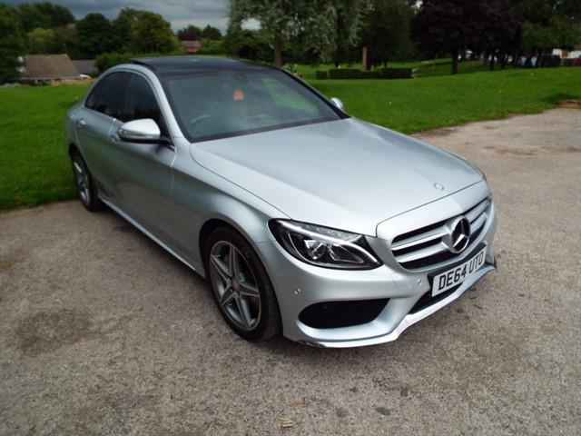 used Mercedes C250 BLUETEC AMG LINE PREMIUM in lancashire