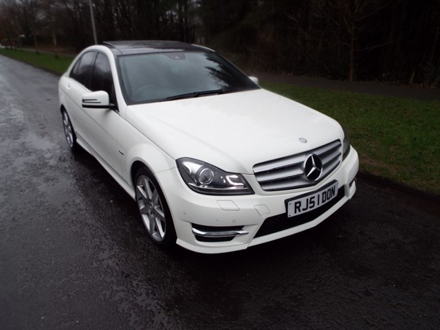 used Mercedes C250 CDI BLUEEFFICIENCY SPORT in lancashire
