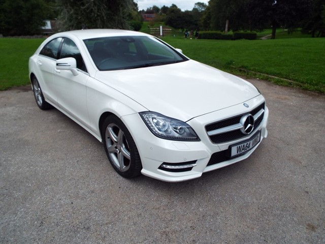 used Mercedes CLS250 CDI CLS250 CDI BLUEEFFICIENCY AMG SPORT in lancashire