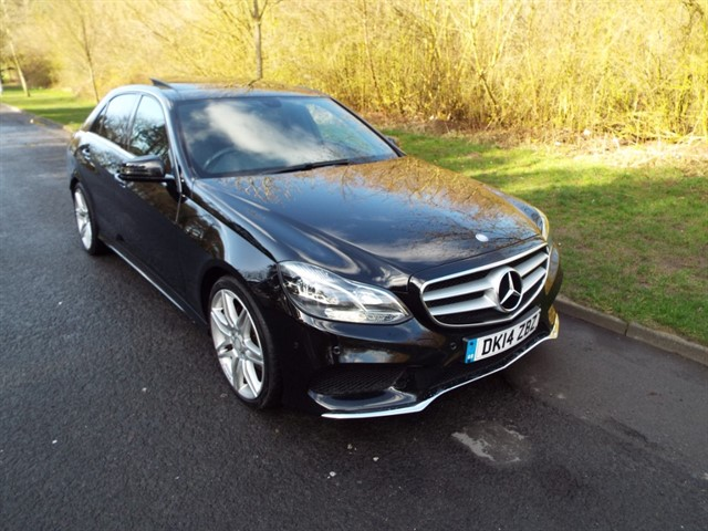 used Mercedes E250 CDI AMG SPORT in lancashire