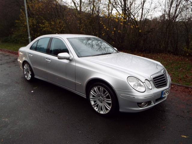 used Mercedes E280 CDI SPORT in lancashire