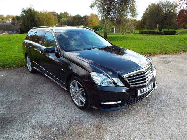 used Mercedes E350 CDI BLUEEFFICIENCY SPORT ED125 in lancashire