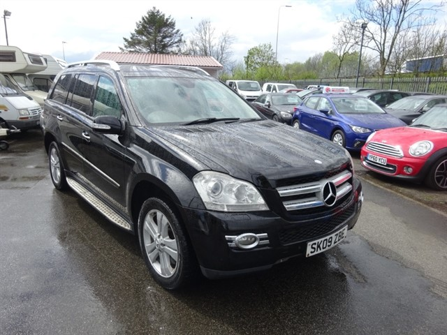 used Mercedes GL320 CDI in lancashire