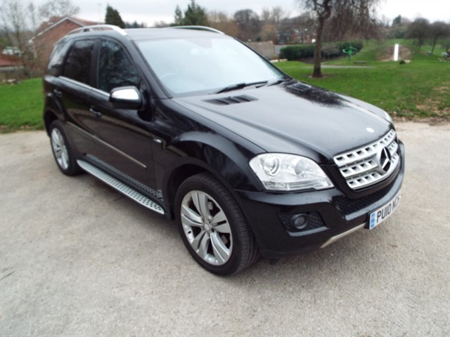 used Mercedes ML350 CDI BLUEEFFICIENCY SPORT in lancashire
