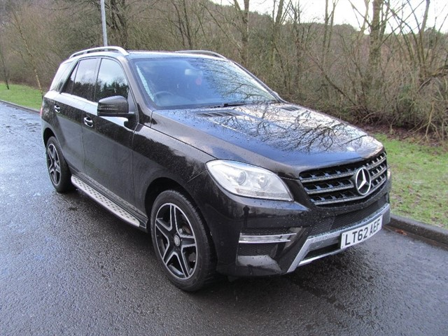 used Mercedes ML350 M Class CDI BlueTEC Sport 5dr in lancashire