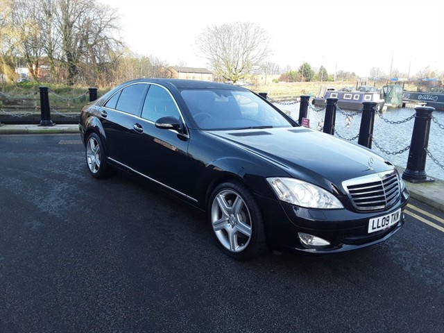 used Mercedes S320 CDI in lancashire