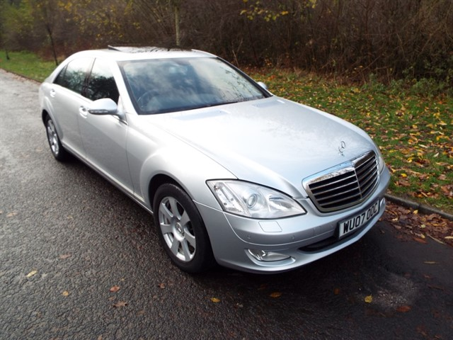 used Mercedes S320L CDI in lancashire