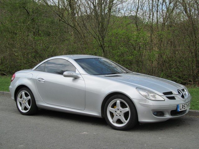 used Mercedes SLK200 200 KOMPRESSOR in lancashire