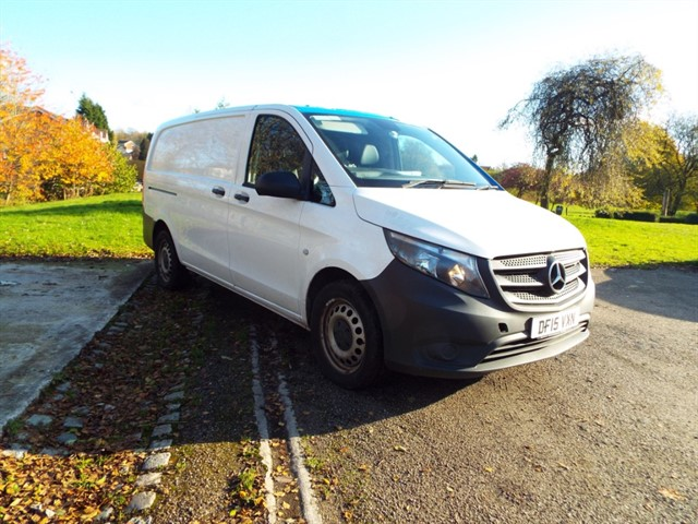 used Mercedes Vito 114 BLUETEC in lancashire
