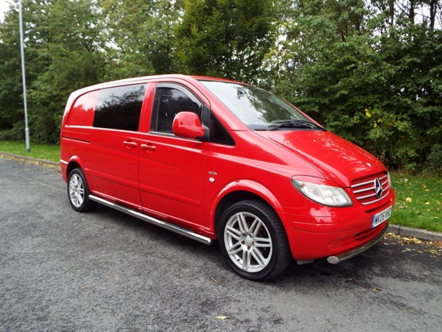 used Mercedes Vito 111 CDI CAMPER CONVERSION in lancashire