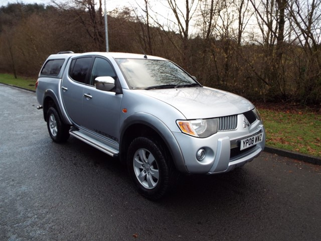 used Mitsubishi L200 4WD LWB WARRIOR DCB in lancashire