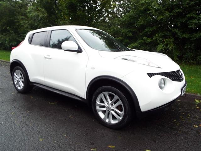 used Nissan Juke TEKNA DCI in lancashire
