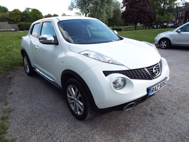 used Nissan Juke ACENTA SPORT DCI in lancashire