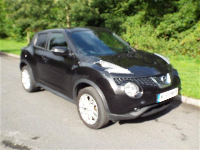 used Nissan Juke N-CONNECTA DCI in lancashire