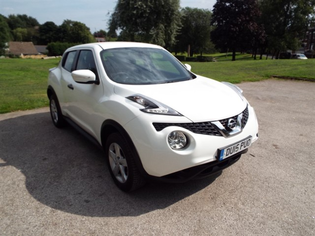 used Nissan Juke VISIA DCI in lancashire