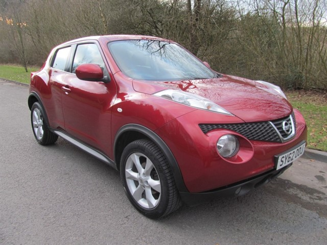 used Nissan Juke dCi Acenta 5dr in lancashire