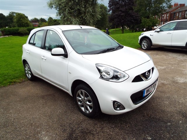used Nissan Micra ACENTA in lancashire