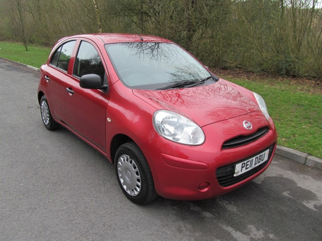 used Nissan Micra VISIA in lancashire