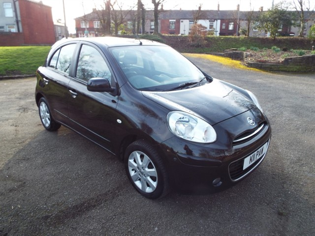 used Nissan Micra TEKNA in lancashire
