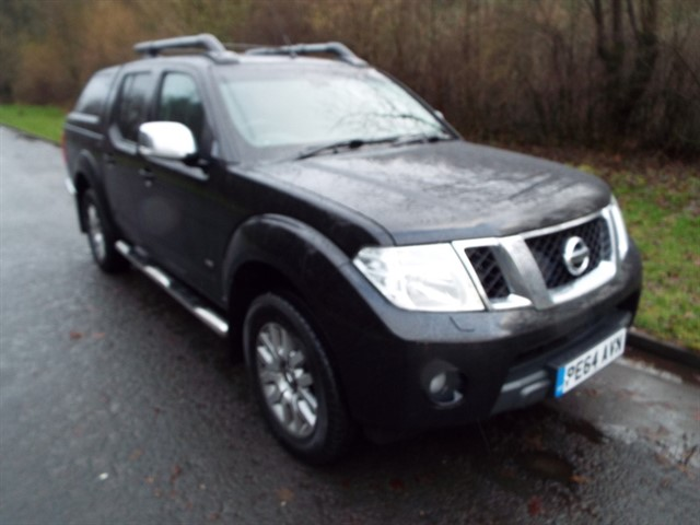 used Nissan Navara DCI OUTLAW 4X4 SHR DCB in lancashire