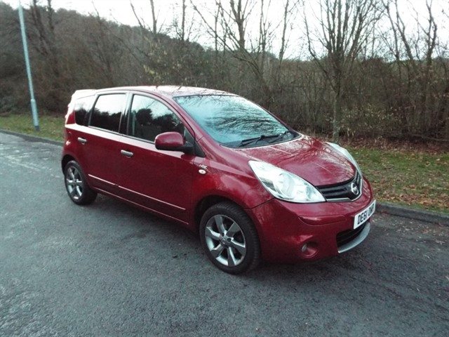 used Nissan Note N-TEC in lancashire