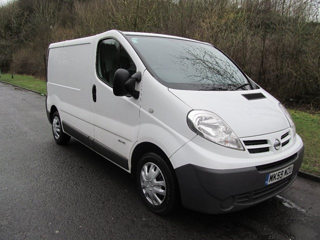 used Nissan Primastar dCi SE 2700 Low Roof Panel Van 4dr Manual (SWB) (214 g/km, 113 bhp) in lancashire