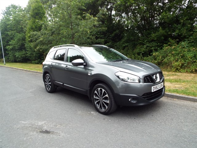 used Nissan Qashqai PLUS 2 DCI N-TEC PLUS IS in lancashire