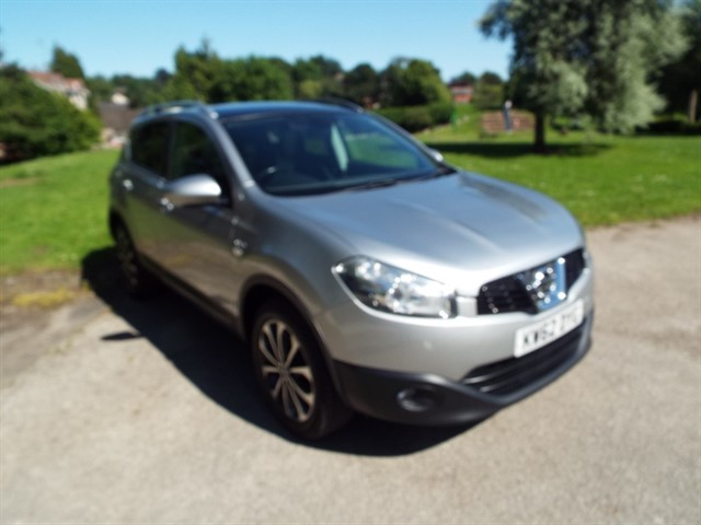 used Nissan Qashqai N-TEC PLUS in lancashire