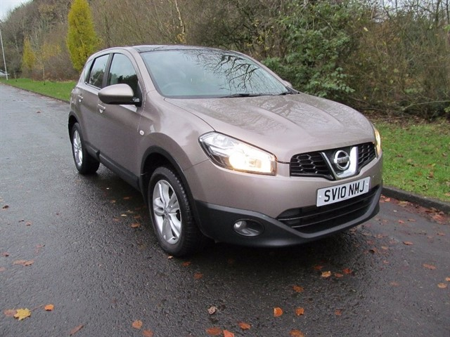 used Nissan Qashqai dCi Acenta 2WD 5dr in lancashire