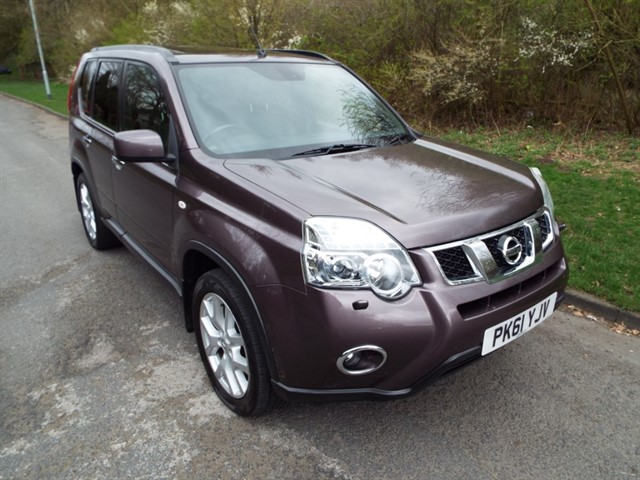 used Nissan X-Trail DCI TEKNA in lancashire