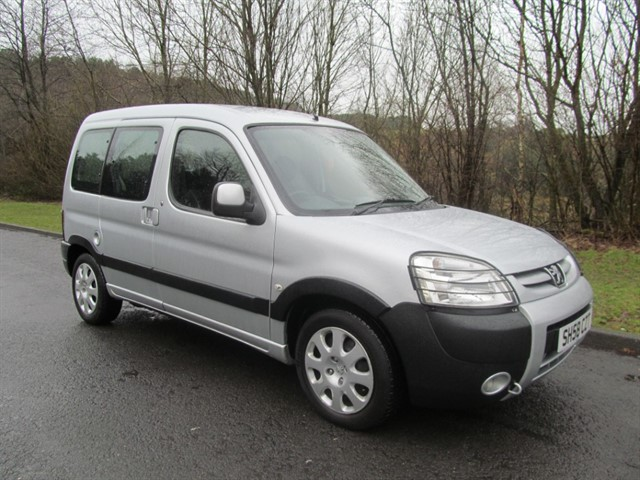 used Peugeot  Partner 1.6 HDi Escapade 5dr in lancashire