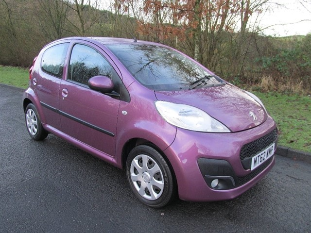 used Peugeot 107 12v Active 5dr in lancashire
